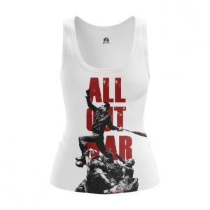 Collectibles Women'S Tank All Out War Walking Dead Vest
