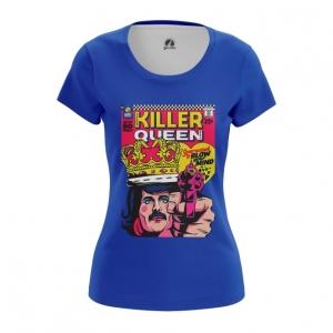 Merchandise Women'S T-Shirt Killer Queen Freddie Mercury Top