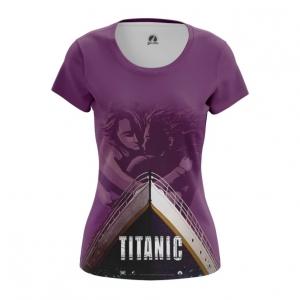 Merch Women'S T-Shirt Titanic Print Ship Top