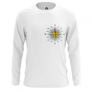 Collectibles Men'S Long Sleeve Wind Rose Merch