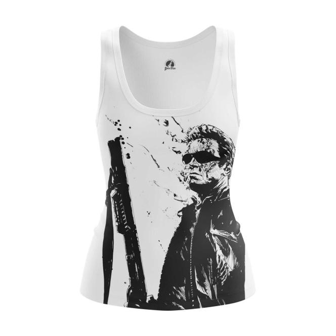 Collectibles Women'S Tank Schwarzenegger Terminator Vest