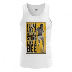 Merchandise - Mens Tank Fly Like A Butterfly Sting Like A Bee Muhammad Ali