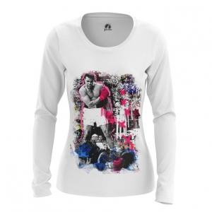Merchandise - Women Long Sleeve Muhammad Ali Art Merch