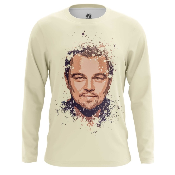 Merchandise Men'S Long Sleeve Leonardo Di Caprio Merch