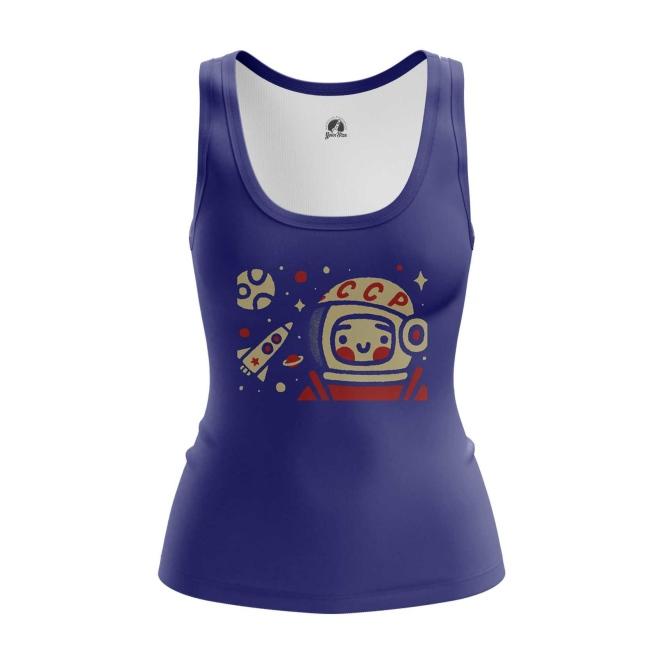 Merch Women'S Tank Yuri Gagarin Space Merch Vest