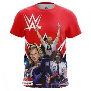 Merch Men'S T-Shirt Wwe Wrestling Merch Top