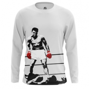 Merchandise - Mens Long Sleeve Champion Muhammad Ali
