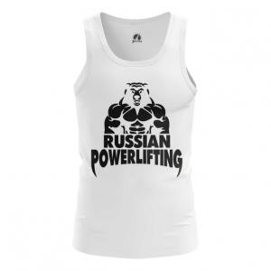 Merchandise Men'S Tank Powerlifting Russian Merch Vest