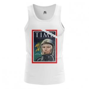 Collectibles Men'S Tank Magazine Cover Time Yuri Gagarin Vest