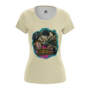 Collectibles Women'S T-Shirt Hobo With A Shotgun Top