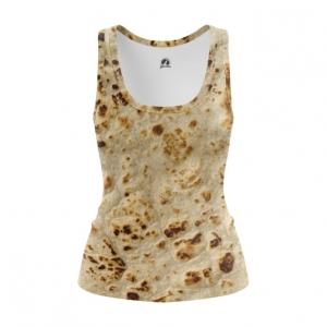 Merchandise Women'S Tank Pita Print Tortillas Vest