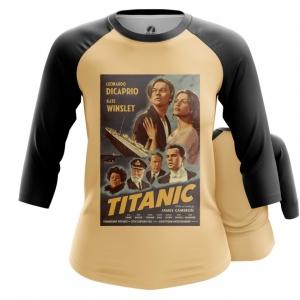 Merch Women'S Raglan Titanic Print Cover Poster