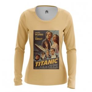 Merch Women'S Long Sleeve Titanic Print Cover Poster