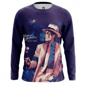 Collectibles Men'S Long Sleeve Smooth Criminal Michael Jackson