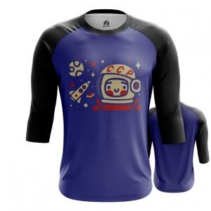 Collectibles Men'S Raglan Yuri Gagarin Space Merch