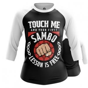 Merchandise Women'S Raglan Russian Sambo Merch Clothing