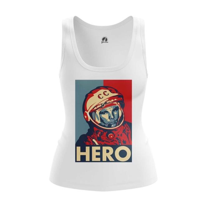 Collectibles Women'S Tank Hero Yuri Gagarin The Hero Vest