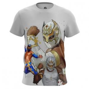 Merch Men'S T-Shirt Wrestler Carístico Mistico Wwe Top