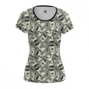 Collectibles Women'S T-Shirt 100 Dollars Money Print Top