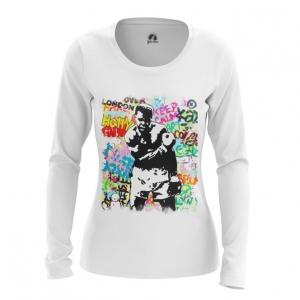 Merchandise - Women Long Sleeve Muhammad Ali Merch