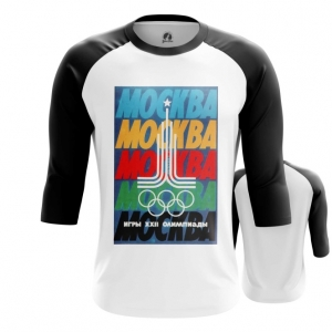 Merch Men'S Raglan Moscow 1980 Olympic Games Clothing
