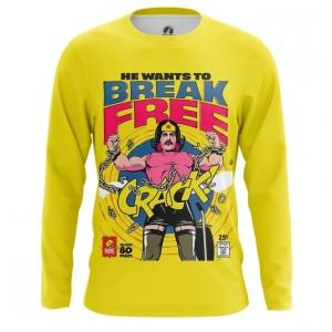 Merchandise Men'S Long Sleeve Break Free Freddie Mercury