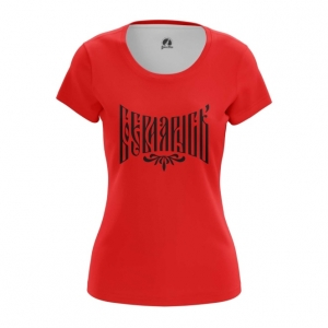 Collectibles Women'S T-Shirt Red Militant Slavic Rus' Top