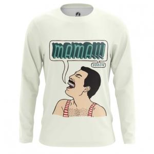 Merchandise Men'S Long Sleeve Mama Freddie Mercury Queen