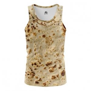 Merchandise Men'S Tank Pita Print Tortillas Vest