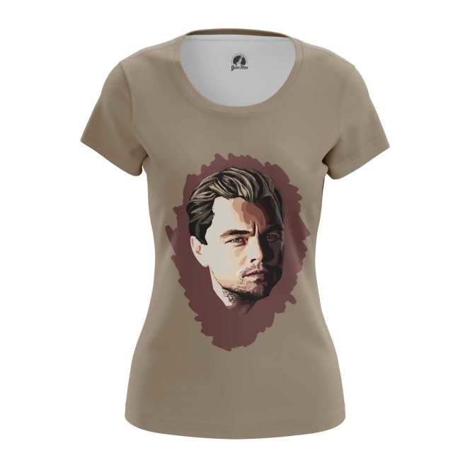 Merch Women'S T-Shirt Di Caprio Art Print Top