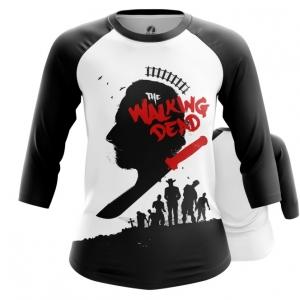 Collectibles Women'S Raglan Rick Grimes Walking Dead