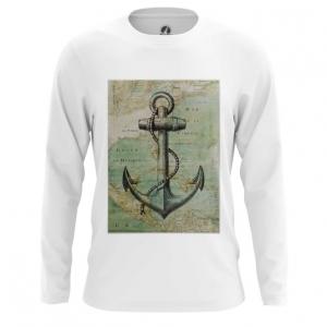 Collectibles Men'S Long Sleeve Sea Anchor Print