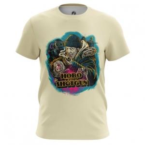 Collectibles Men'S T-Shirt Hobo With A Shotgun Top