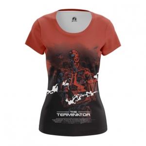 Collectibles Women'S T-Shirt Terminator Endoskeleton Robot Top