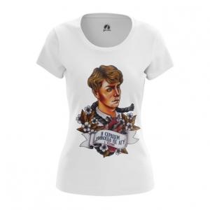 Merchandise Women'S T-Shirt Quote Russian Poetry Yesenin Top