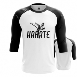 Merchandise Men'S Raglan Karate Merch White