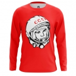 Merchandise Men'S Long Sleeve Yuri Gagarin Cosmonaut
