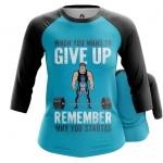 Merchandise - Women Raglan Motivation Powerlifting