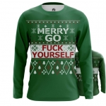 Merchandise Men'S Long Sleeve Merry Christmas Go Fuck Yourself