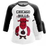 Collectibles - Women Raglan Chicago Bulls Merch Basketball