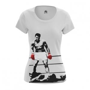 Merchandise - Women'S T-Shirt Champion Muhammad Ali Top