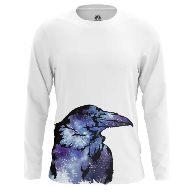 Collectibles Men'S Long Sleeve Raven Crow Print