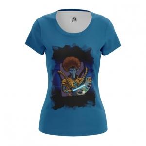 Merch - Women'S T-Shirt Bob Ross Bob Toss Starcraft Top