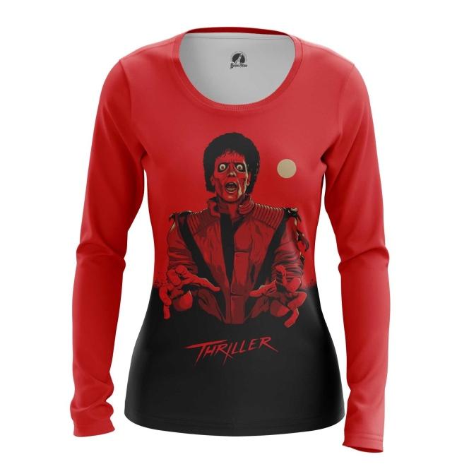 Merch Women'S Long Sleeve Thriller Michael Jackson