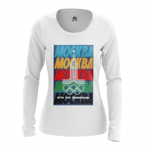 Merch Women'S Long Sleeve Moscow 1980 Olympic Games Clothing