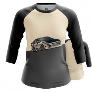 Merch Women'S Raglan Ae86 Toyota Car