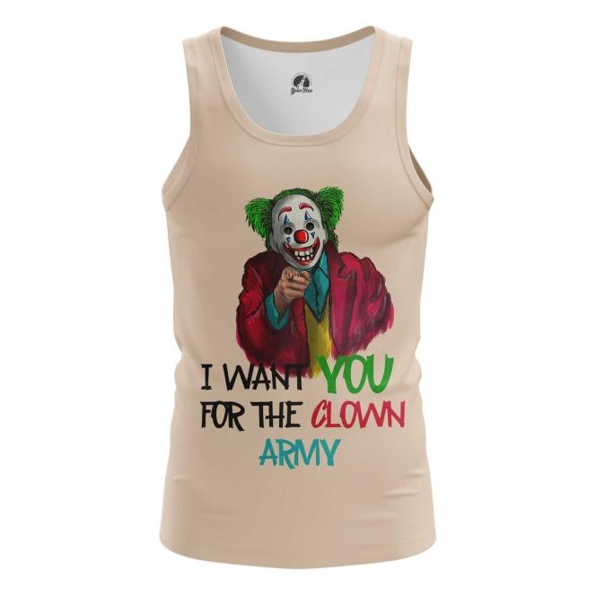 Merchandise Men'S Tank Join Clown Army Joker Vest