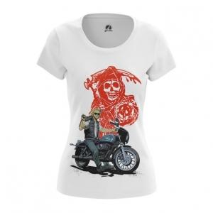 Merch Women'S T-Shirt Sons Of Anarchy Tv Series Top