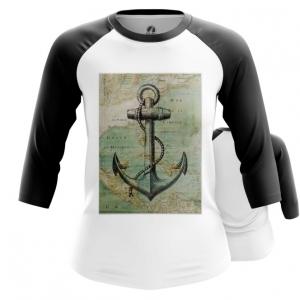 Collectibles Women'S Raglan Sea Anchor Print