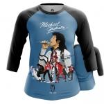 Collectibles Women'S Raglan Michael Jackson Tribute Merch